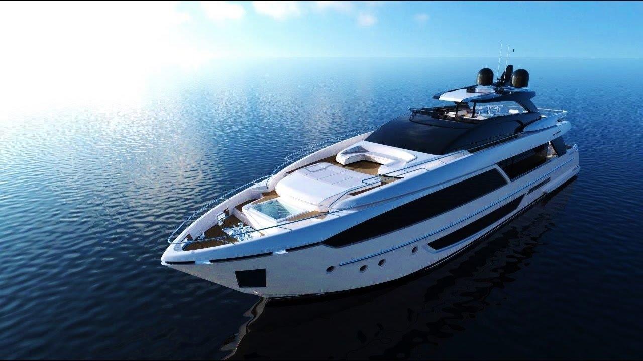 Riva 110 U0026 39  New Magnificent Flybridge Luxury Yacht  By Riva