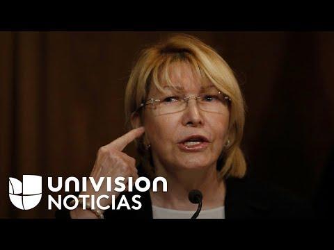 Fiscal general de Venezuela, Luisa Ortega, huye a Colombia junto a su esposo