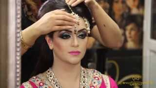 Asian Bridal Makeup Tutorial By Qas Of Kashish -Traditional Look.