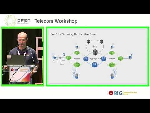 Open OSP Cell Site Gateway Router - OCP Telecom Workshop @ BCE
