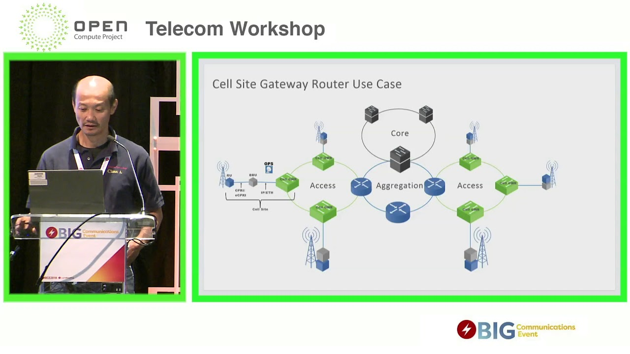 open osp cell site gateway router ocp telecom workshop bce [ 1280 x 720 Pixel ]