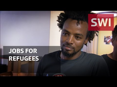 Employment service for refugees
