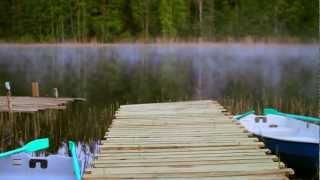видео Ламбушка - турбаза в Карелии. База отдыха в Карелии. Отдых в Карелии недорого.