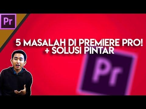5 Masalah yang sering ditemui di Adobe Premiere Pro dan Solusinya- Close Lupa Save, Media offline