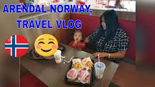 ARENDAL NORWAY, DOWNTOWN AREA😊FILIPINA SA NORWAY