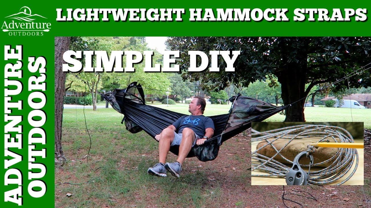 camping gear   hammock straps   make your own diy ultralight hammock suspension  adventure outdoors camping gear   hammock straps   make your own diy ultralight      rh   youtube
