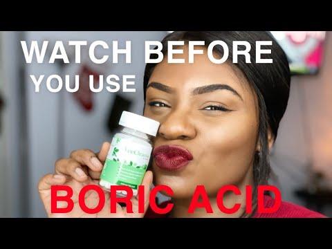 BEWARE!!! WATCH THIS BEFORE USING BORIC ACID FT. VEE FRESH
