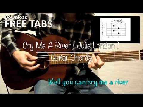Cry Me A River (Julie London) - Guitar Chords / Takashi Terada
