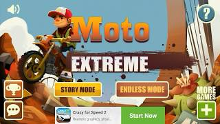 Moto Extreme Race - FIRST Gameplay | Fast Race Gameplay | Moto Extreme Race Game