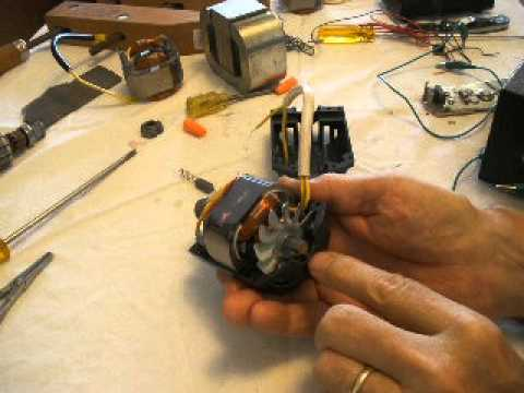 Experimenting with a Brush Drive Motor part 3