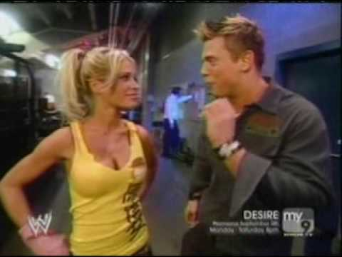 Ashley and The Miz Backstage - YouTube