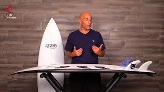 """Haydenshapes """"Darkside"""" Surfboard review by Noel Salas Ep. 36"""