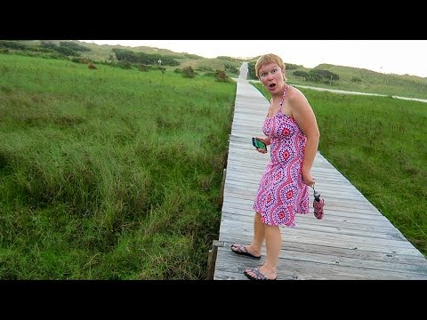 Camping in the Outer Banks,  NC : Travel Vlog
