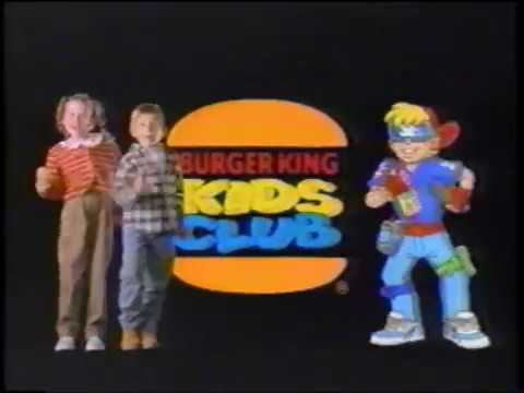 Burger King Kid's Club - Babysitter - M&M's - Commercial (1997)