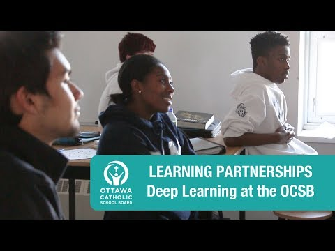 Deep Learning | Learning Partnerships at the OCSB (Global Solutions Project)