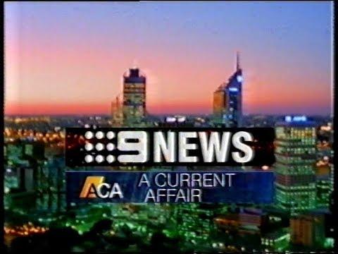 National Nine News Perth A Current Affair