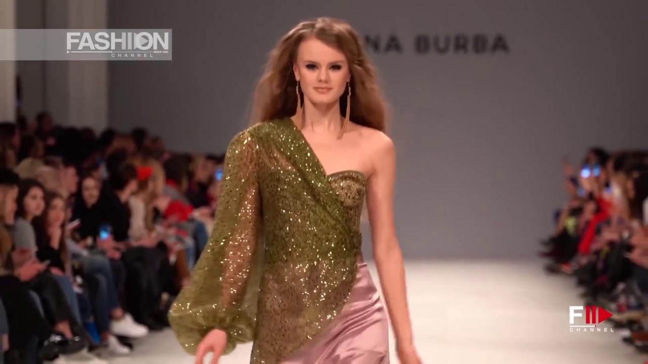 162e71d1330 ELENA BURBA Fall 2018/2019 Ukrainian FW - Fashion Channel - YouTube