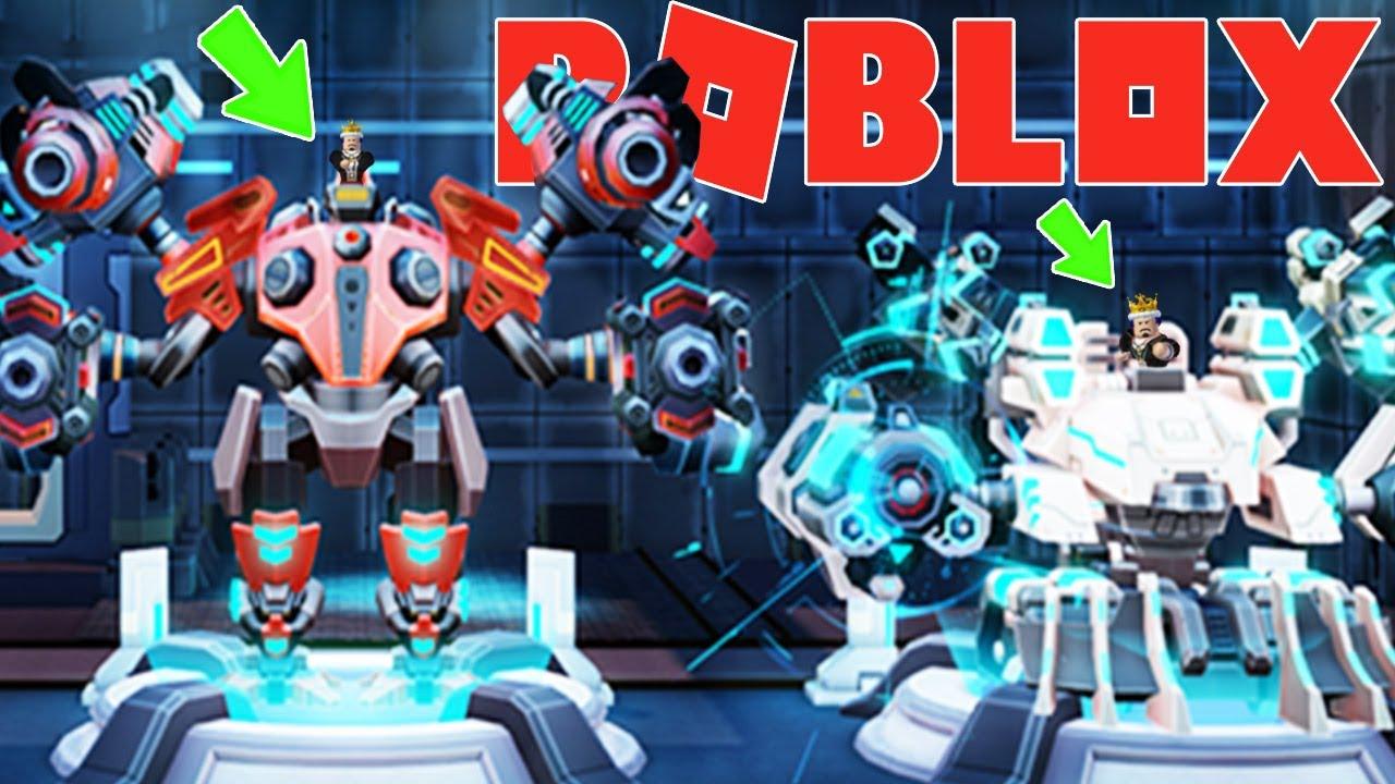 Roblox - THỬ GAME CHẾ TẠO ROBOT CHIẾN ĐẤU SIÊU TO NGẦU LỒI ĐẠI CHIẾN ROBOT KHỔNG LỒ - Mega Mech