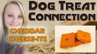 Cheddar Cheese-its - Dog Treat Connection - All Natural Dog Treats