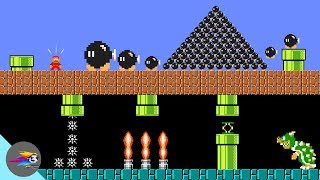 Mario mysterious world and bob-omb force