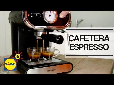 Máquina De Café Expresso Silvercrest Lidl