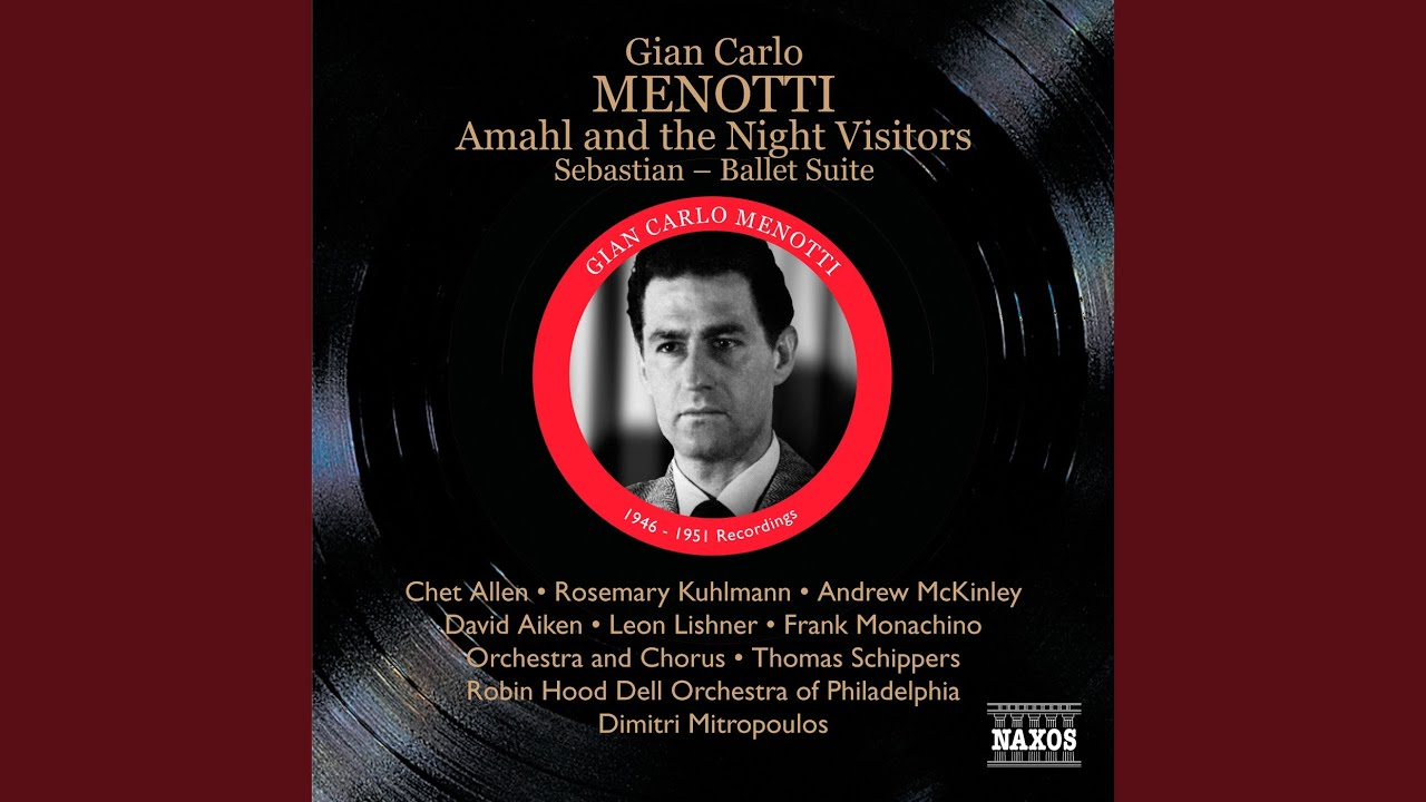 Amahl and the night visitors all that gold