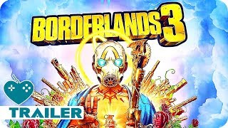 BORDERLANDS 3 Release Date Trailer (2019) PS4, Xbox One, PC Game