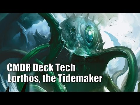 Kyle's Lorthos, the Tidemaker CMDR Deck [EDH / Commander / Magic the Gathering]