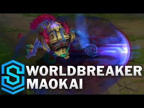 Worldbreaker Maokai Skin Spotlight - League of Legends