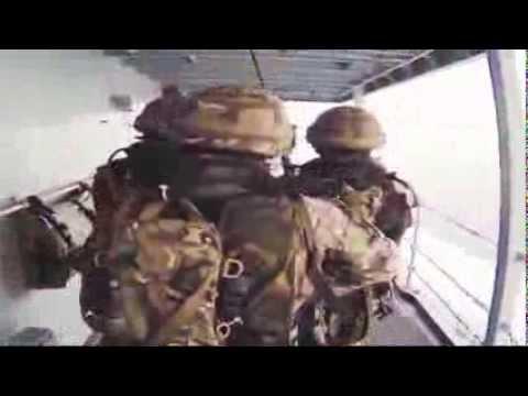 Royal Marines Boarding Skills On Display
