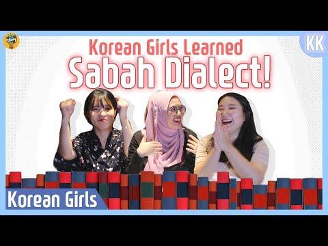 Korean Girls Learned Sabah Dialect! |Blimey in KK ep.4