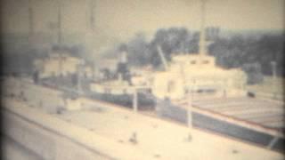 1959 Twin Flight Locks Welland Canal, Ship Keyport