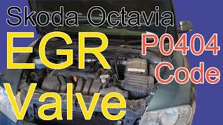 Skoda Octavia EGR Valve P0404 Code