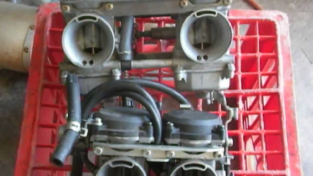 Howto: Remove Ninja 250 carbs in under 10 mins