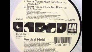Vertical Hold - Seems You