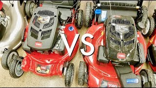 TORO's Super Recycler VS. Regular Mower