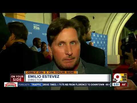 Emilio Estevez's new film 'The Public' puts Cincinnati in national spotlight at premiere