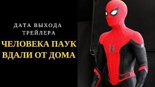 Дождались! Дата выхода трейлера Человека паука Вдали от дома