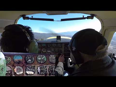 Cross Country Flight: Cable to Daggett