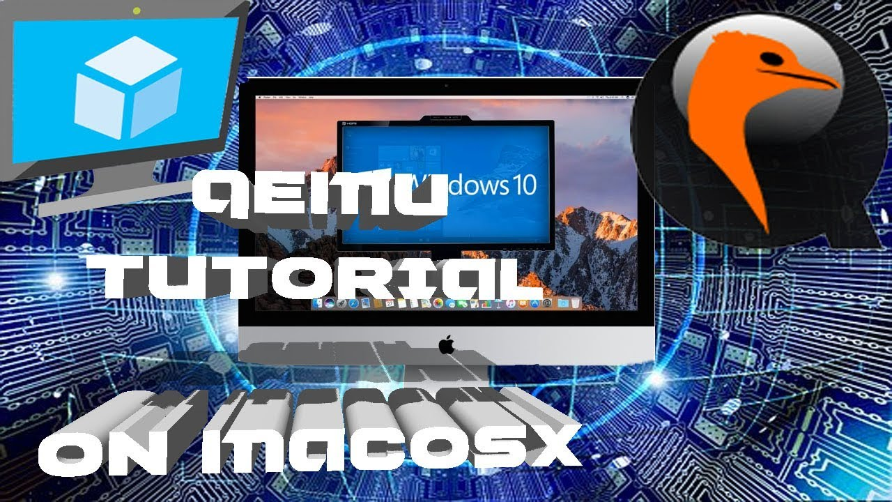 How To Install & Use QEMU Virtual Machine On MacOSX [For Dummies]