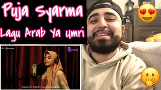 "Reacting to Puja Syarma ""Lagu Arab Ya Umri"""