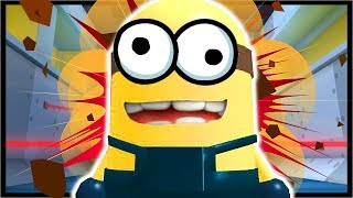 ESCAPE THE MINIONS IN ROBLOX!? | Roblox Despicable Me 3 Adventure Obby