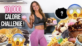 10,000 CALORIE CHALLENGE | GIRL VS FOOD