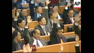 THAILAND: THAKSIN SHINAWATRA CHOSEN AS NEW PM