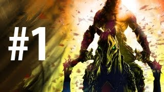 Darksiders 2 - Playthrough Part 1 - The Dark Fortress [No commentary] [HD PC]