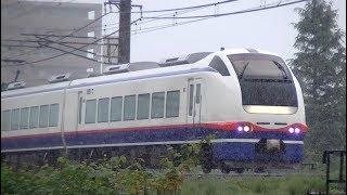 特急しらゆき4号E653系H202編成 信越本線上り3014M