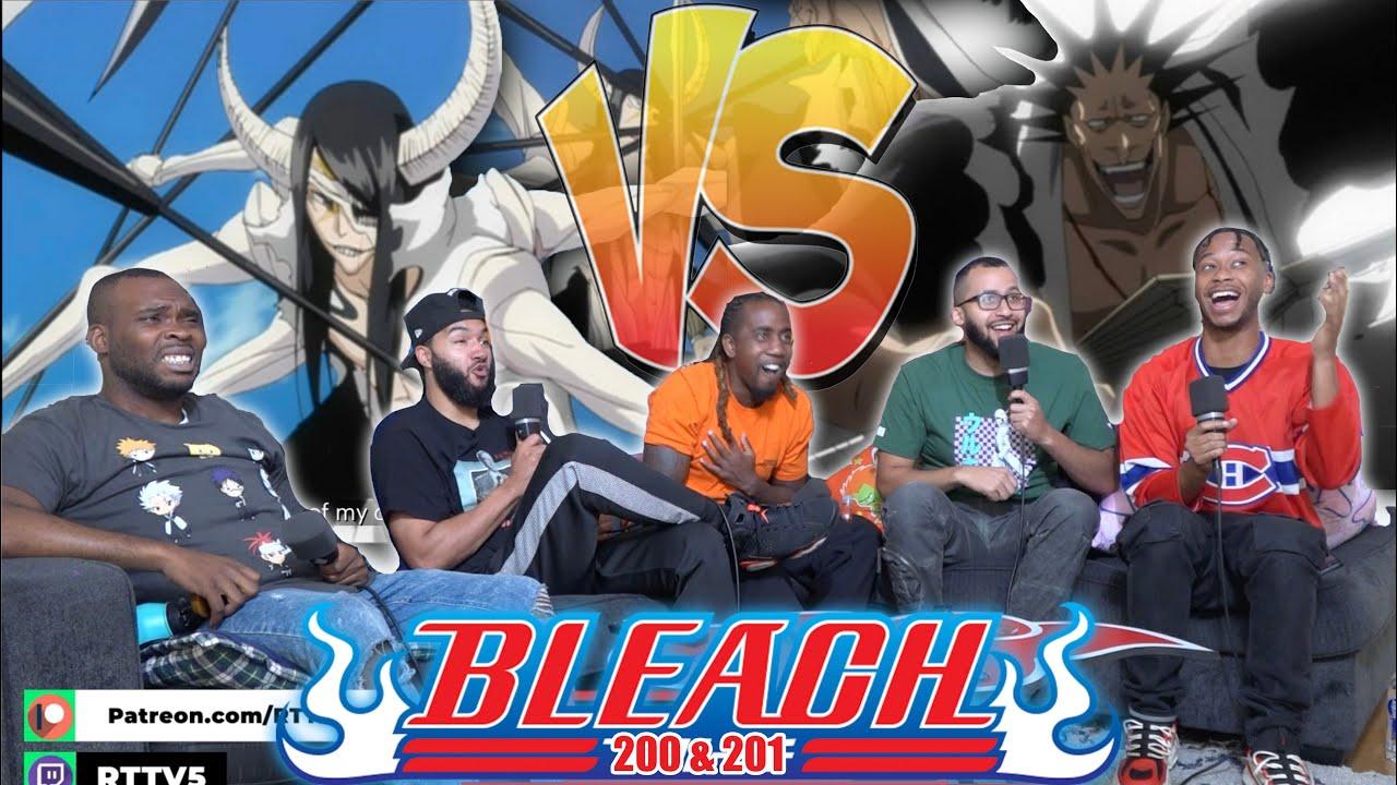 Download Kenpachi Vs Nnoitra! Bleach Ep 200 & 201 REACTION!