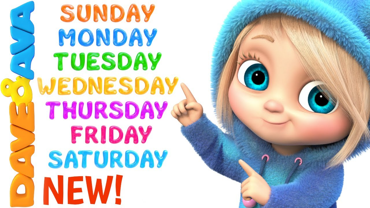Download ❣️ Days of the Week   Nursery Rhymes and Kids Songs   Baby Songs by Dave and Ava ❣️