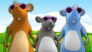 три слепых мыша | детские стишки | ребенок песня | Three Blind Mice | Little Tree House Russia