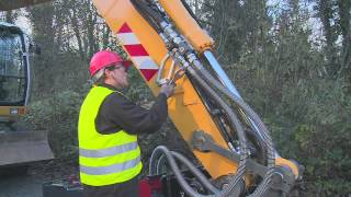 cp hydraulic breaker installation and operator instructions